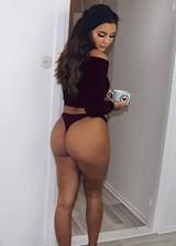 White girl wirh perfect ass