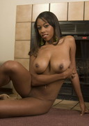 Amber Fox is naked