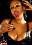 Busty vampire queen