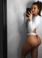 Hot girl with fit ass