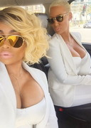 Amber Rose and Blac Chyna 2015 BET Awards