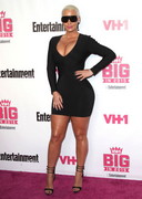 Amber Rose in a tight dress
