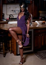 Sexy ebony porn star