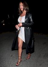 Anastasia Karanikolaou in a tight dress