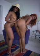 Two big booty porn stars