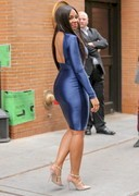 Ashanti in a tight dress