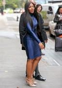 Ashanti in a tight dress