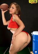 Aurora Jolie big booty football