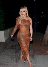 Bebe Rexha in a tight dress