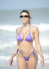 Bella Bunnie in a bikini