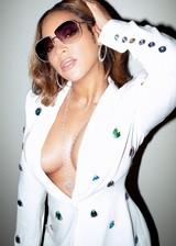 Beyonce cleavage