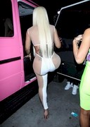 Blac Chyna in a sexy outfit