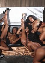 Ebony orgy