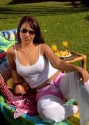 Naked Brazilian babe Carmen Dias