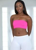 Ebony porn star stripping