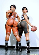 Thick Football players