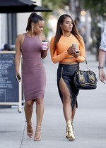 Christina Milian and Danielle Flores