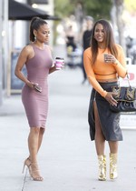 Christina Milian and Danielle Flores