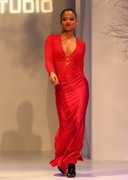 Christina Milian is sexy in red