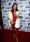 Christina Milian Christmas cleavage