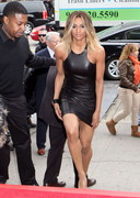 Ciara in a tight dress