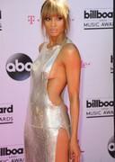 Braless Ciara in a sexy dress