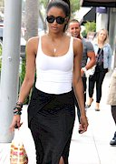 Ciara in a white top