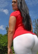 Big butt latinas riding horses