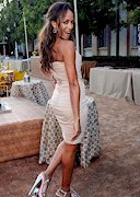 Dania Ramirez in a tight dress