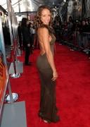 Dania Ramirez in a see through dress