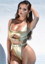 Big booty swimsuit model