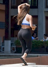 Thick in leggings