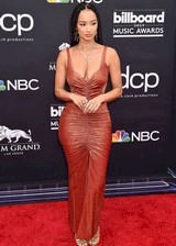 Draya Michele in a sexy dress