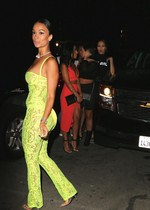 Draya Michele in a sexy outfit