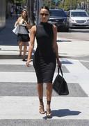 Draya Michele in a tight dress