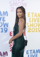 Flora Coquerel on the red carpet