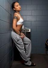 Sexy prisoner strips