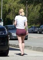 Iggy Azalea in booty shorts
