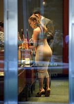 JLo in a tight dress