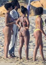 Janelle Monae in a bikini