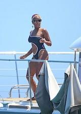 Janelle Monae in a swimsuit