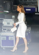 Jennifer Lopez in a tight dress