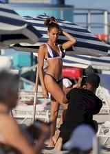 Joan Smalls in a bikini