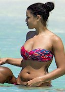 Jordin Sparks in a bikini