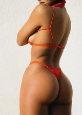 Sexy latina bikini babe