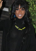 Kelly Rowland see through