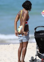 Kelly Rowland in a swimsuit