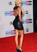 Keri Hilson in a short dress