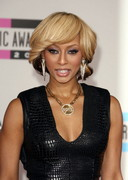 Keri Hilson in a short dress