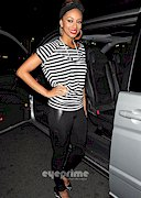 Keri Hilson in tights